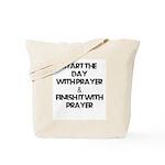 Daily Prayers Tote Bag