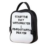 Daily Prayers Neoprene Lunch Bag