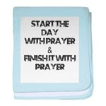 Daily Prayers baby blanket