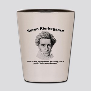 Kierkegaard Life Shot Glass