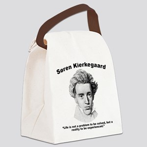 Kierkegaard Life Canvas Lunch Bag