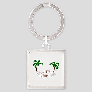 Beach Applique Keychains