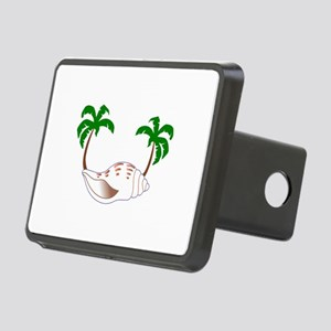 Beach Applique Hitch Cover