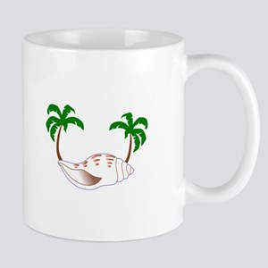 Beach Applique Mugs