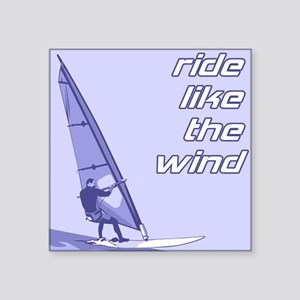 "FIN-windsurfing-ride-wind Square Sticker 3"" x"