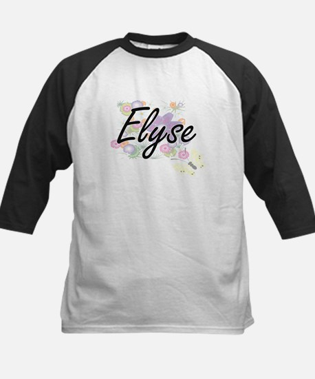 Elyse Artistic Name Design with Fl Baseball Jersey