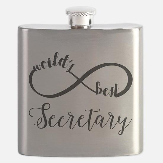World's Best Secretary Flask