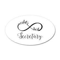 World's Best Secretary Wall Decal