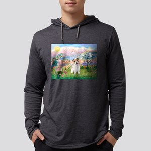 Cloud Angel 2 / JRT pup Mens Hooded Shirt