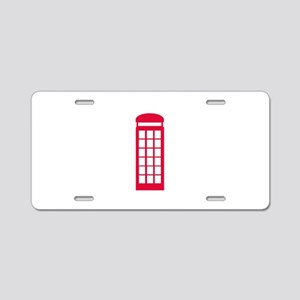 phone booth Aluminum License Plate