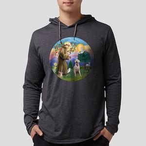 StFrancis-YLab (Bz) Mens Hooded Shirt