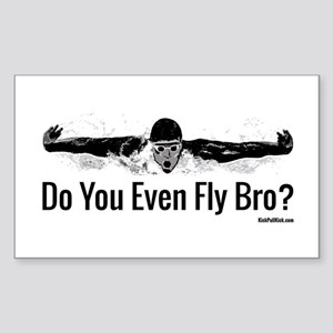 Do You Even Fly Bro? Sticker