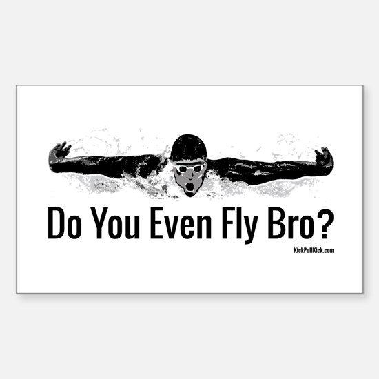 Do You Even Fly Bro? Stickers