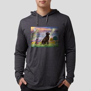 Cloud Angel / Lab (c) Mens Hooded Shirt