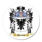 Moriarty Round Car Magnet
