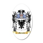 Moriarty 20x12 Oval Wall Decal