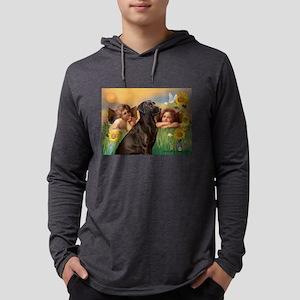 Cherubs / Lab (c) Mens Hooded Shirt