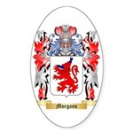 Morgans Sticker (Oval)