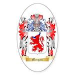 Morgan Sticker (Oval 10 pk)