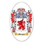 Morgan Sticker (Oval 50 pk)