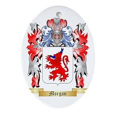 Morgan Oval Ornament