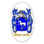 Morford Sticker (Oval 50 pk)