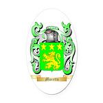 Moretto Oval Car Magnet