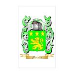 Moretto Sticker (Rectangle 50 pk)