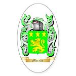 Moretto Sticker (Oval 50 pk)