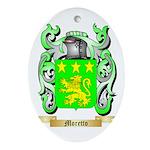 Moretto Oval Ornament