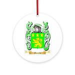 Moretto Round Ornament