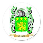 Moretti Round Car Magnet
