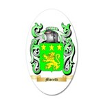 Moretti 35x21 Oval Wall Decal