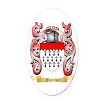 Moreton Oval Car Magnet