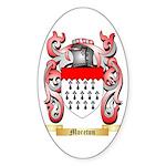 Moreton Sticker (Oval 50 pk)