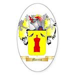 Moreno Sticker (Oval 50 pk)