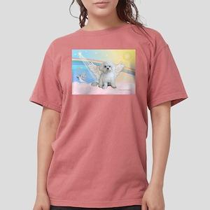 Maltese / Angel Womens Comfort Colors Shirt