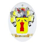 Morena Oval Ornament