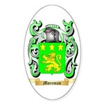 Moreman Sticker (Oval 50 pk)