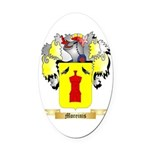 Moreinis Oval Car Magnet