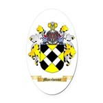 Morehouse Oval Car Magnet