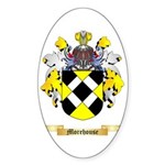 Morehouse Sticker (Oval 50 pk)