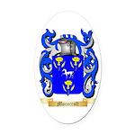 Morecroft Oval Car Magnet