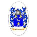 Morecroft Sticker (Oval)
