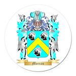 Moreau Round Car Magnet