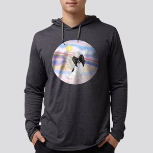 Papillon (#1) Angel Mens Hooded Shirt