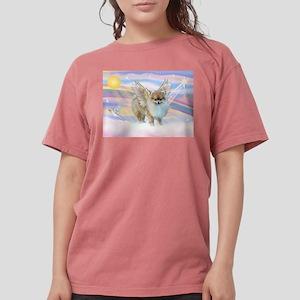 Pomeranian / Angl (s&w) Womens Comfort Colors