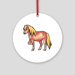 Pony Round Ornament