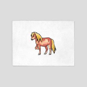 Pony 5'x7'Area Rug
