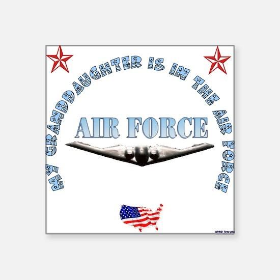 """Unique Army military sister Square Sticker 3"""" x 3"""""""
